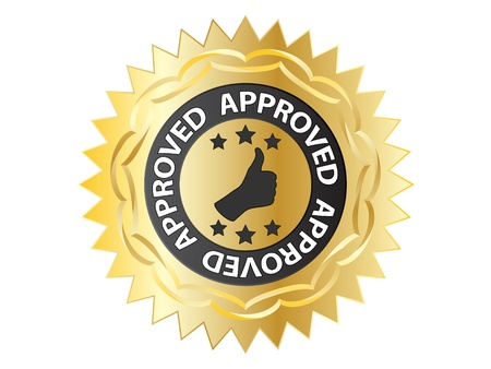 accomplish: approved label