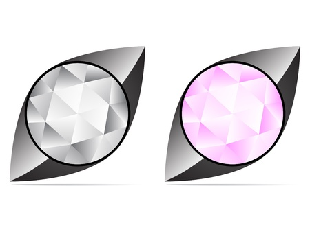 diamond icon Stock Vector - 10496665