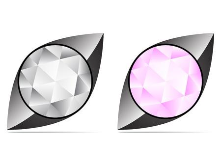 diamond icon Stock Vector - 10496665