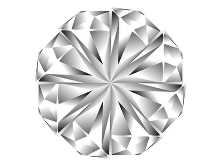 diamond icon Stock Vector - 10496602