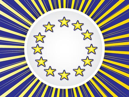 deflated:  european flag