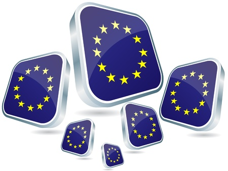 discussion forum:   european flags poster