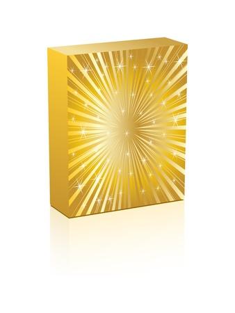 deflated: golden box