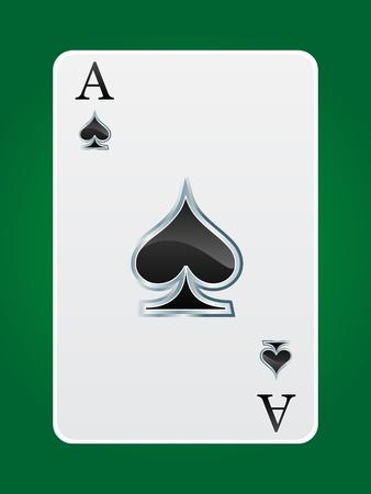 games card ace Illustration