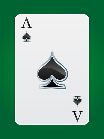 em: games card ace Illustration