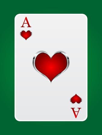 royal flush: games card ace Illustration