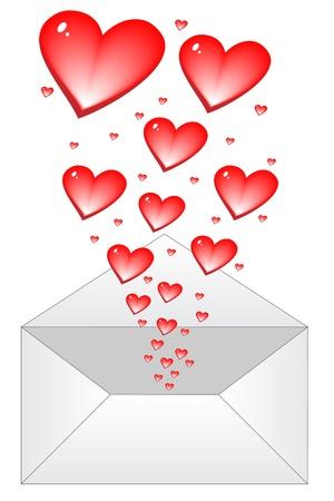 love letter Stock Vector - 10496620
