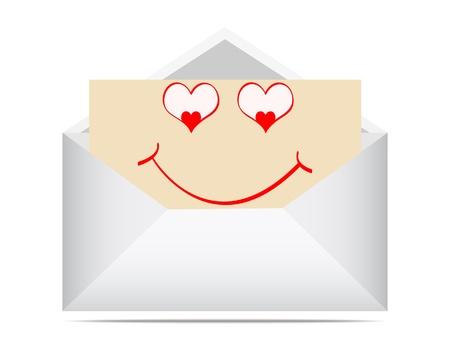 letter of love Vector