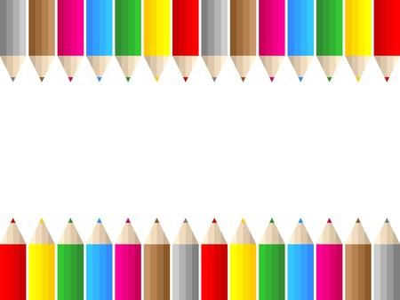 colorful pencils Stock Vector - 10496584