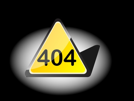 404 error vector illustration  Vector