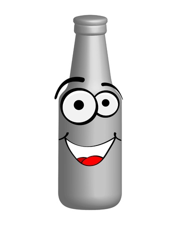 bottle of beer vector illustration  Çizim