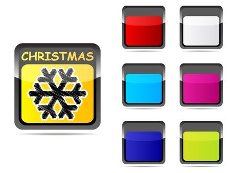 snowdrop: snowdrop button vector illustration