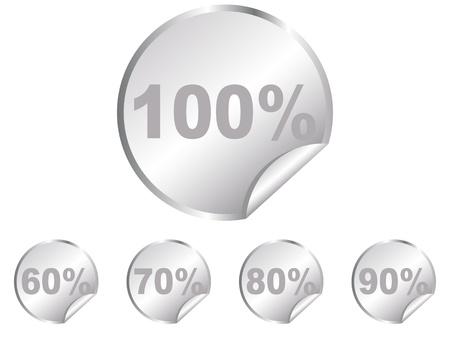 discount stickers vector illustration  Vector
