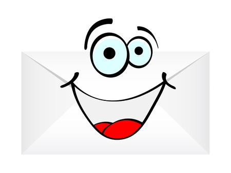 happy letter vector illustration Vector