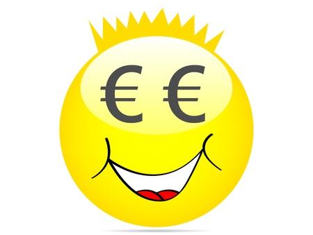 cartoon face vector illustration Stock Vector - 10567919