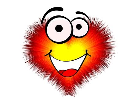 funny love heart Stock Vector - 10568296