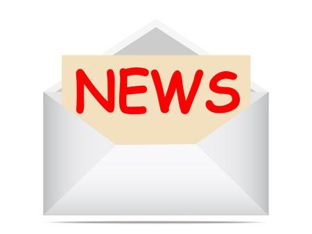 reciving news vector illustration Stock Vector - 10567995