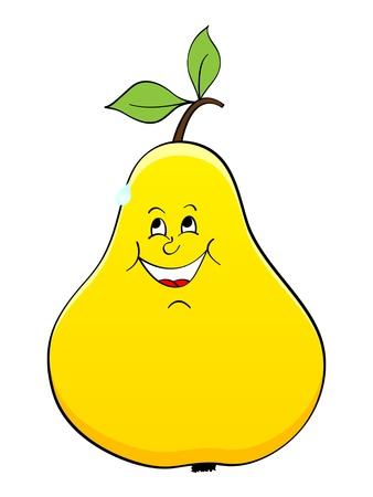 dolly: pear vector illustration  Illustration