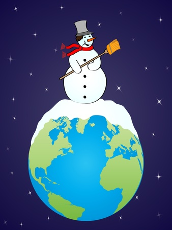christmas around the world Vector