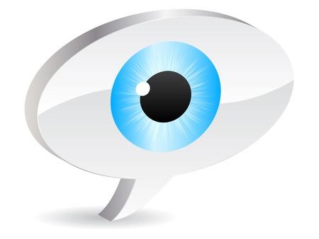 eye vector illustration Stock Vector - 10705595