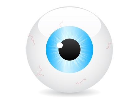 eye vector illustration Vector