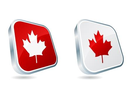 canadienne illustration vectorielle icône