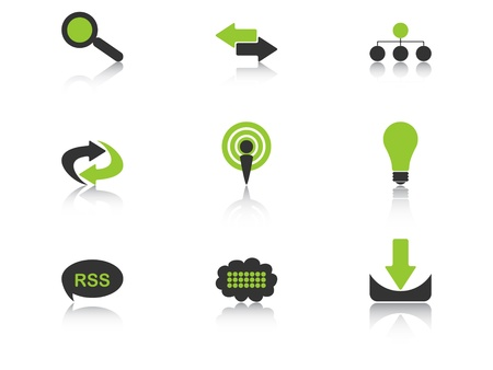 icons vector illustration Stock Vector - 10705600