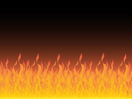 fire vector illustration Illustration