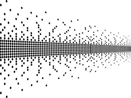 Pixel vector illustration