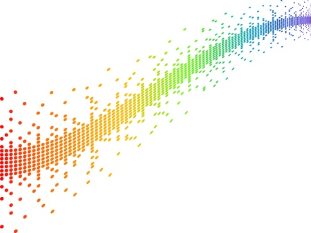 inkjet: p�xeles ilustraci�n vectorial Vectores