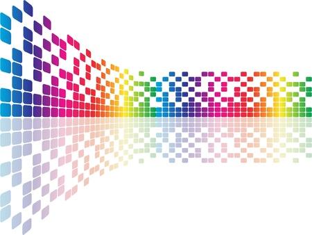 impresora: p�xeles ilustraci�n vectorial Vectores