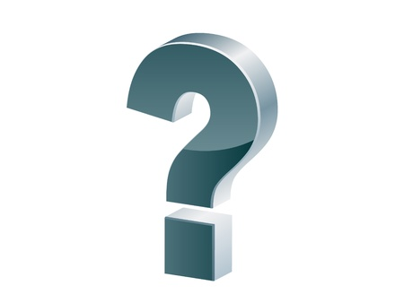Question mark icon Illustration