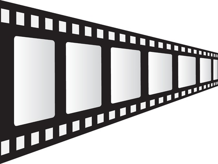 filmstrip vector illustration Stock Vector - 10787482