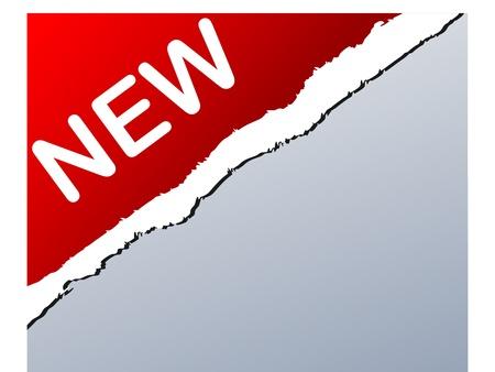 creation of sites: NEW sign vector illustration Illustration