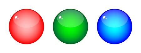 rgb: vector illustration of RGB colors
