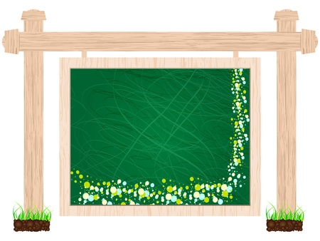 blackboard banner Stock Vector - 10787580