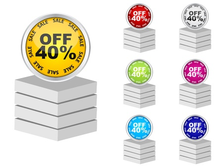 forty: forty percent discount