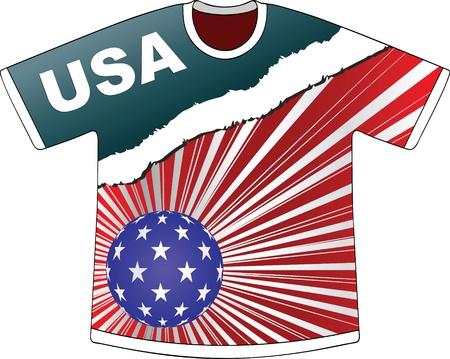 us sizes: american t-shirt
