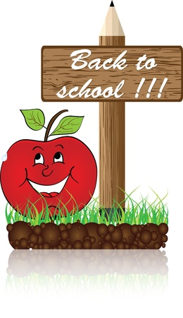 back to school banner Stock Vector - 10806524