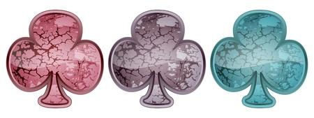 clover stone Vector