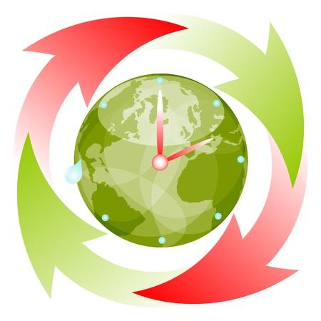 work worker workforce world: time passing