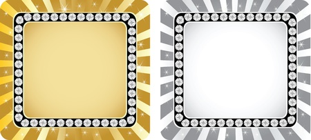 golden and silver banner Stock Vector - 10805731