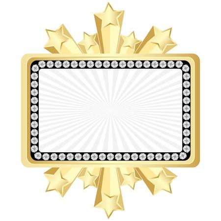 bandera de oro