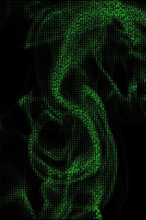 musical background matrix effects