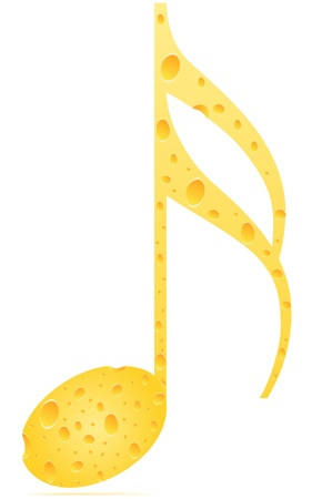 patter: musical note cheese patter