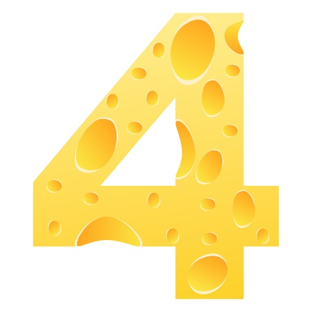 parmesan cheese: number 4