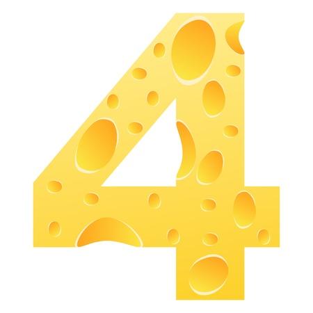 parmesan cheese: number 4