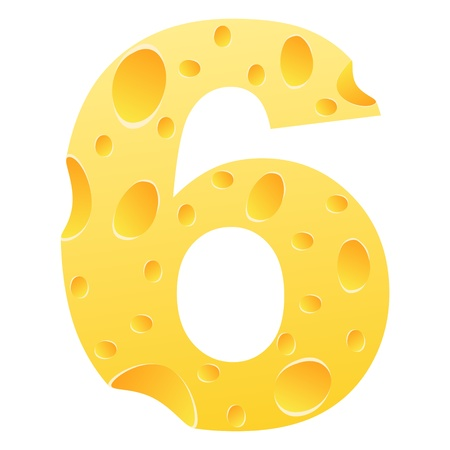 parmesan cheese: number 6