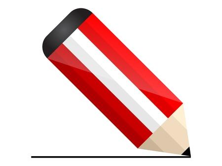 austrian: austrian pencil