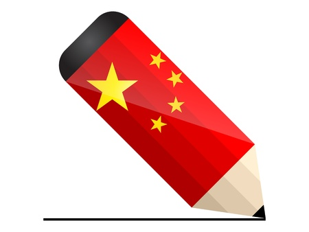 chinese pencil Stock Vector - 10806146